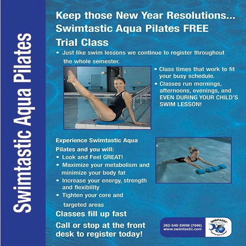 Swimtastic Program Flyer